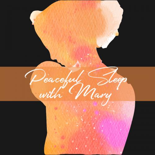 peaceful-sleep-with-Mary,-circle-black
