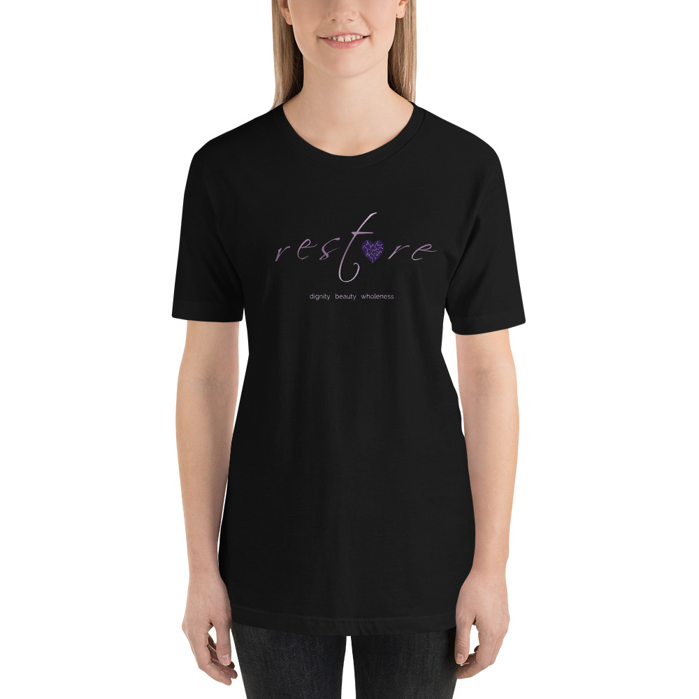 Restore Retreat Short Sleeve T-Shirt, Dark