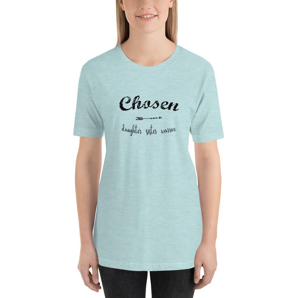 Chosen T-shirt, Black Text